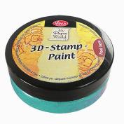 Viva Decor 119390736 3D Stamp Paint, Lime Green