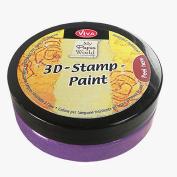 Viva Decor 119391136 3D Stamp Paint, Violet