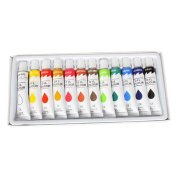 New Professional Oil Paints 12 Tubes Oil Colours Painting Set
