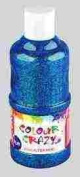 Colour Crazy 250ml Ready Mixed Blue Glitter Paint
