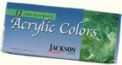 Jackson Acrylic Tubes 12 Ct