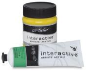 Interactive Professional Acrylic 80 ml Tube - Cadmium Yellow Light