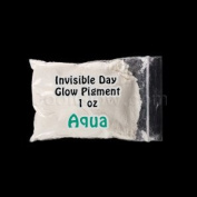GlominexTM Invisible Day Glow Pigment 30ml - Aqua Glow in the Dark