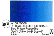 Holbein Artists Watercolour Phthalo Blue Red Shade 15ml