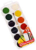 Jack Richeson Student Semi Moist Watercolour, Set of 12