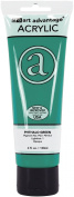 Art Advantage 120ml Tube Acrylic Paint, Phthalo Green
