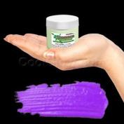 Glominex Glow Paint Invisible Day 60ml Jar Purple
