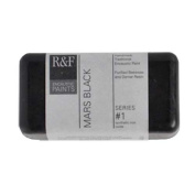 R & F Encaustic 40ml Paint, Mars Black