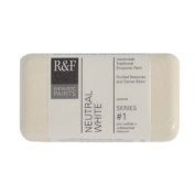 R & F Encaustic 40ml Paint, Neutral White
