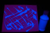 240ml Blue Blacklight Reactive Fluorescent Tempera Paint