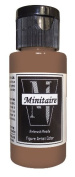 Badger Air-Brush Company, 60ml Bottle Minitaire Airbrush Ready, Water Based Acrylic Paint, Bark