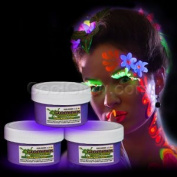 Glow Body Paint 60ml Jar - Purple