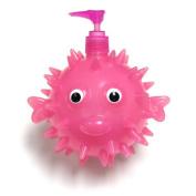 Pink Pufferfish 6.5 x 18cm x 13cm Soap Dispenser