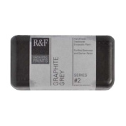R & F Encaustic 40ml Paint, Graphite Grey