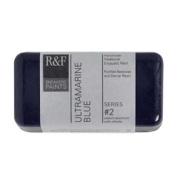 R & F Encaustic 40ml Paint, Ultramarine Blue