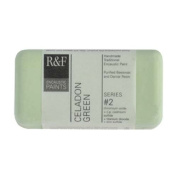 R & F Encaustic 40ml Paint, Celadon Green