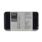 R & F Encaustic 40ml Paint, Payne's Grey