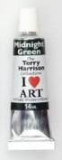 Terry Harrison Midnight Green Watercolour Paint