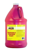 School Smart Washable Tempera Paint - Gallon - Magenta