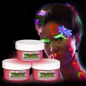 Glow Body Paint 60ml Jar - Pink