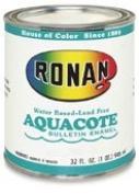 Ronan Aquacote Enamel 240ml Black