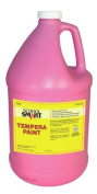 School Smart Tempera Paint - Gallon - Pink