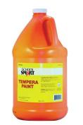 School Smart Tempera Paint - Gallon - Orange