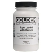 Golden Acrylic Super Loaded Matte Medium - 240ml Jar