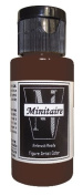 Badger Air-Brush Company, 60ml Bottle Minitaire Airbrush Ready, Water Based Acrylic Paint, Saddle Brown
