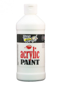 Handy Art by Rock Paint 101-000 Student Acrylic Paint, 1, Titanium White, 470ml