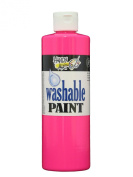 Handy Art by Rock Paint 211-153 Washable Paint 1, Fluorescent Hot Pink, 470ml
