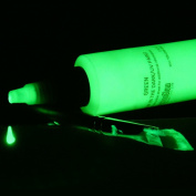 Vibrant Green Glow in the Dark & UV Acrylic Paint