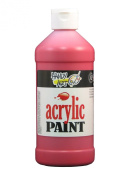 Handy Art by Rock Paint 101-040 Student Acrylic Paint, 1, Brite Red, 470ml