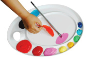 Professional Peel-off Acrylic Palette, for Both Left and Right Handers