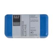 R & F Encaustic 40ml Paint, Manganese Blue Hue