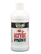 Handy Art by Rock Paint 101-005 Student Acrylic Paint, 1, Blockout White, 470ml