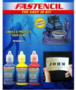 Fastencil Paint Identification Kit to Mark All Your Dive Gear