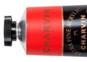 Charvin Extra-Fine Artists' Acrylic Paints 60 ml Paint Tube - Vermilion Red Light