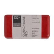 R & F Encaustic 40ml Paint, Quinacridone Red