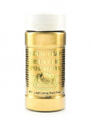 Gold Leaf & Metallic Co. Metallic and Mica Powders leaf/lining rich pale gold 60ml