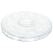 Sax Paint Saver Palette with 6-Well Plastic Insert - 29cm - White