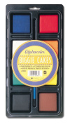 Quartet Alphacolor Concentrated Tempera Biggie Paint Cake Tray Set, 2 x 6.4cm x 1.3cm , Multi-Coloured, 8 Colours per Pack
