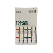 Holbein Artists' Gouache Sample Set of 5 5 ml Tubes