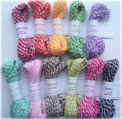 Twinery Colourful Bunch Sampler Pack - 11 Colours