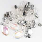 Bead Concepts Jewellery Kit, Crystal Silver