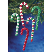 Holiday Beaded Ornament Kit-Candy Cane Assortment