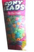 Glow in the Dark Kids Jewellery Pony Beads