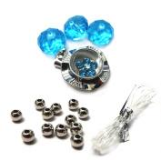 Fiona Crystal 091116-03 Spinner Charm Bracelet Kit