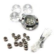 Fiona Crystal 091116-04 Spinner Charm Bracelet Kit