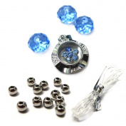 Fiona Crystal 091116-12 Spinner Charm Bracelet Kit
